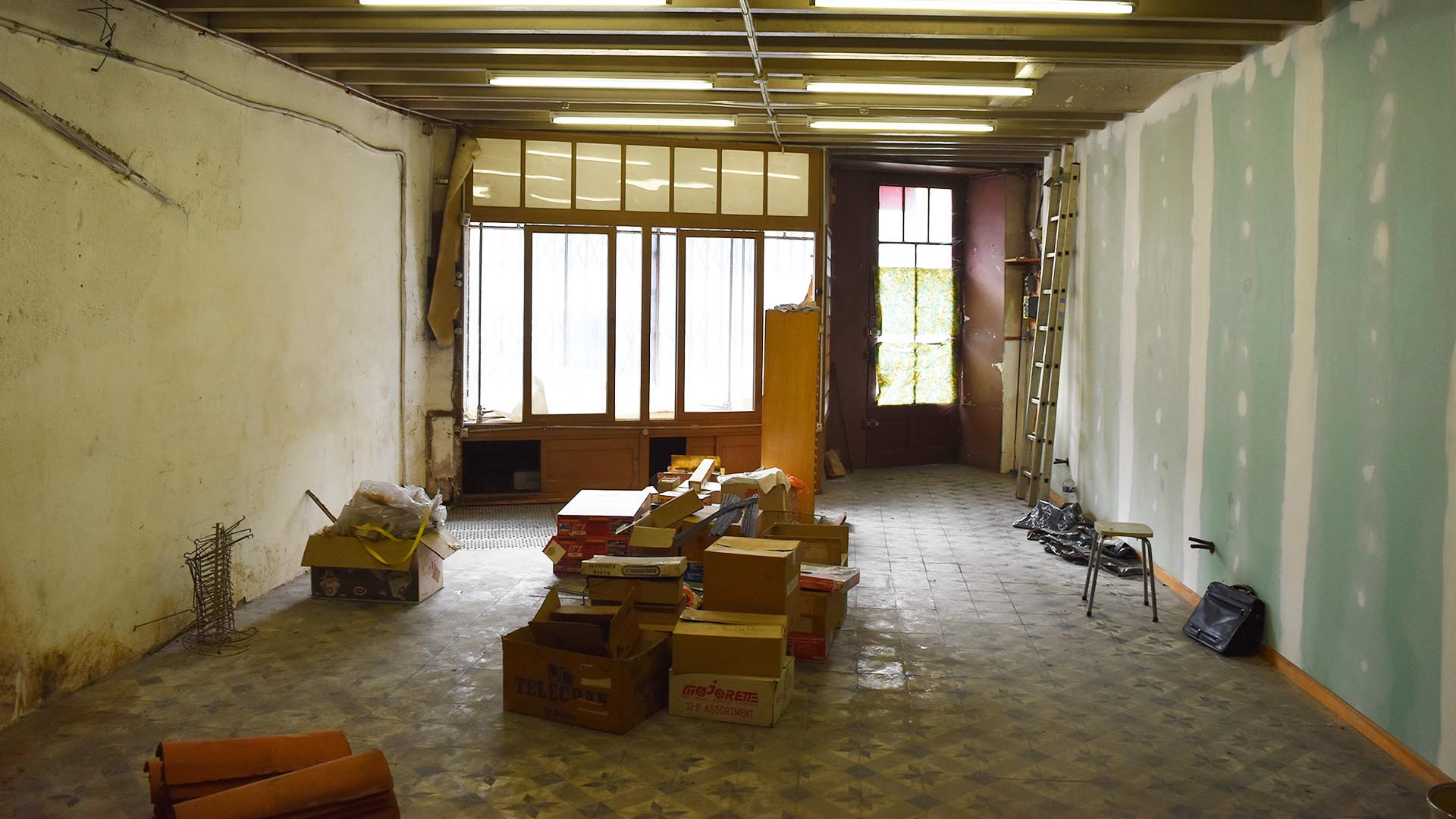 Quel projet de réaménagement poru cette pièce