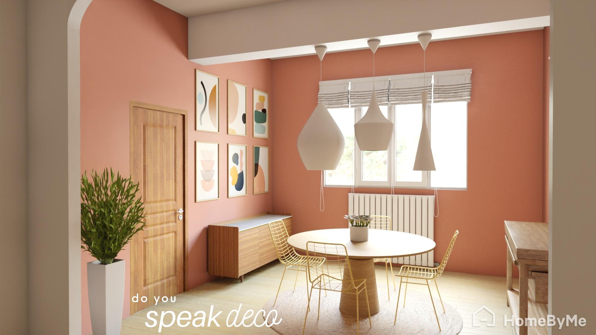 Il est plus facile de se projeter avec cette salle à manger en 3D réaliste